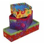 Fusible Fabric Boxes